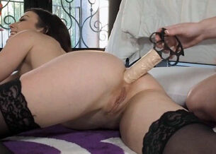 Huge anal dildo videos
